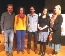 Book Award 2015 - Publisher Focus - Silas White with Bren Simmers, Raoul Fernandes, Rita Wong and Trisha Cull
