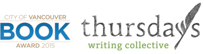 Vancouver Book Award 2015 combined with Thursday Writing Collective